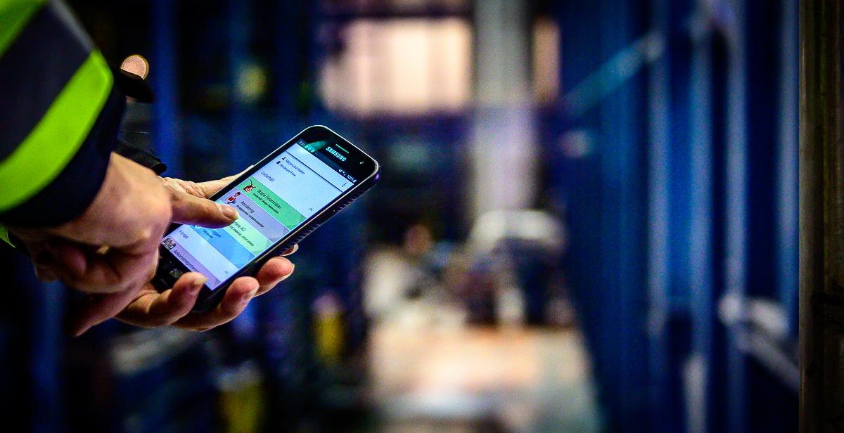 Smart app för bättre säkerhetsarbete